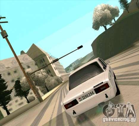 Ваз 2106 [ARM] для GTA San Andreas вид справа
