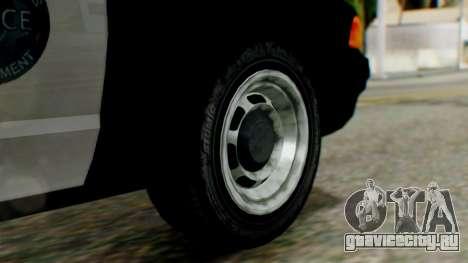 GTA 5 Police LV для GTA San Andreas вид сзади слева
