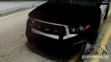 GTA 5 Police SF для GTA San Andreas вид справа