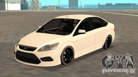 Ford Focus Sedan 2009 для GTA San Andreas