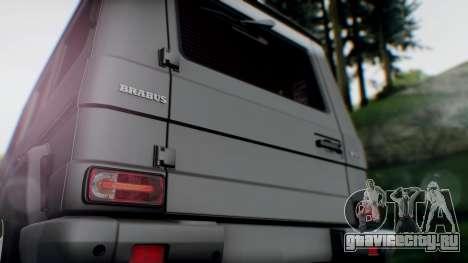 Brabus B55 для GTA San Andreas вид сзади