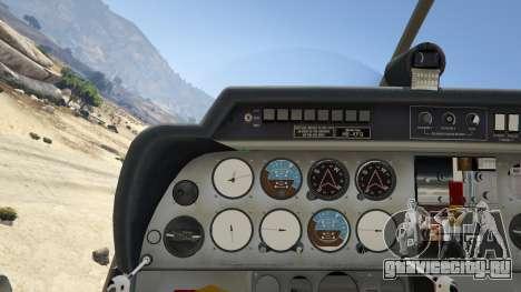 Robin DR-400 для GTA 5 четвертый скриншот