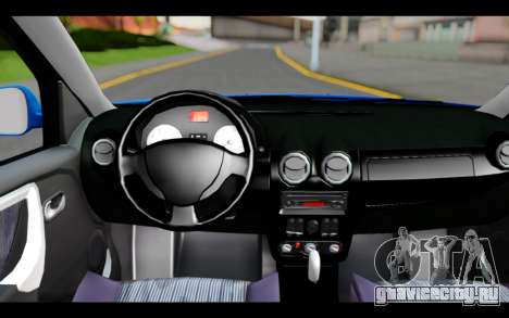 Renault Sandero для GTA San Andreas вид справа