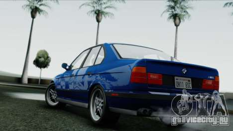 BMW M5 E34 US-spec 1994 (Full Tunable) для GTA San Andreas
