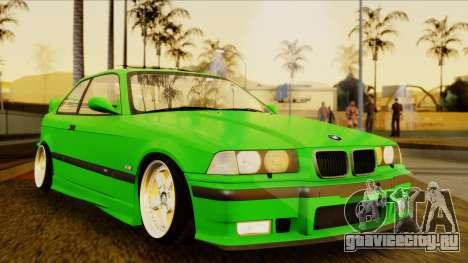 BMW M3 E36 [34RS671] для GTA San Andreas вид справа