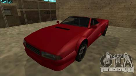 Cheetah Cabrio для GTA San Andreas вид справа