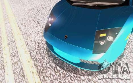 Lamborghini Murcielago 2005 для GTA San Andreas колёса