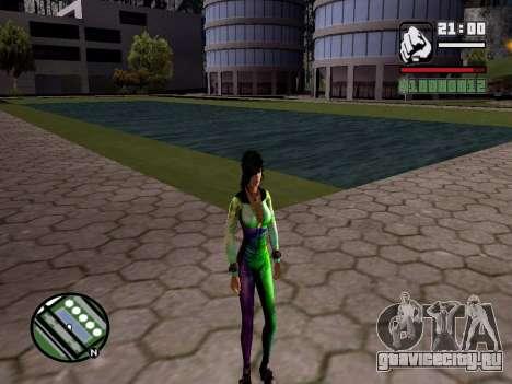 Christie Doa Changed v1.0 для GTA San Andreas третий скриншот