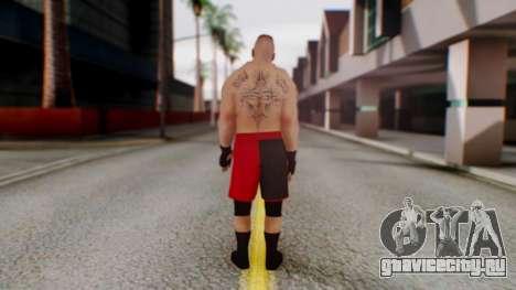 Brock Lesnar для GTA San Andreas третий скриншот