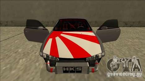 Nissan Silvia S14 Drift JDM для GTA San Andreas салон