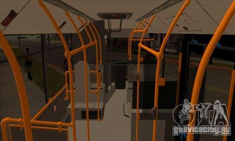 МАЗ 206.000 для GTA San Andreas вид сзади