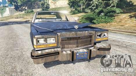Cadillac Fleetwood Brougham 1985 [rusty] для GTA 5