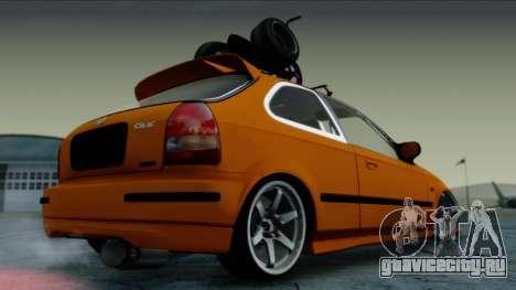 Honda Civic BC YAPIM для GTA San Andreas вид слева