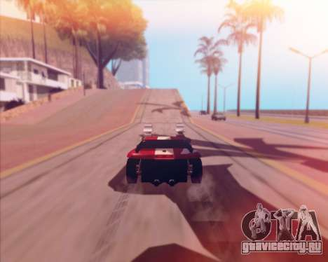 Banshee Twin Mill III Hot Wheels v1.0 для GTA San Andreas вид сзади