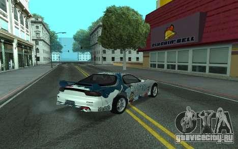 Mazda RX-7 Tunable для GTA San Andreas вид справа