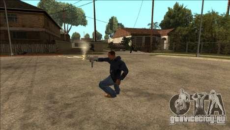 Дополнительная анимация TEC-9 для GTA San Andreas второй скриншот