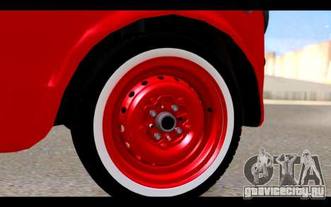 Zastava 750 - The Cars Movie для GTA San Andreas вид справа