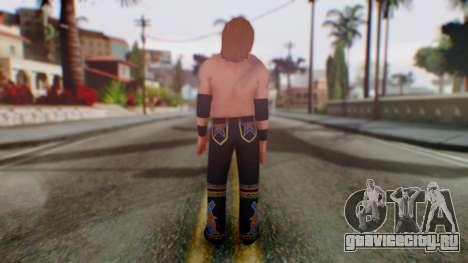 Heath Slater для GTA San Andreas третий скриншот