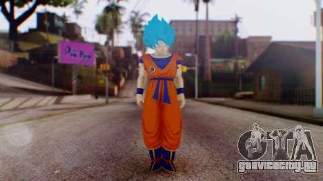 Goku SSJ God Blue (SSGSS) для GTA San Andreas второй скриншот