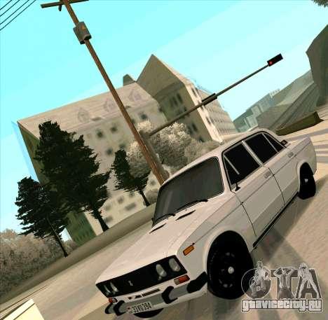 Ваз 2106 [ARM] для GTA San Andreas вид сзади