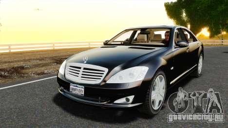 Mercedes-Benz S600L 2008 для GTA 4