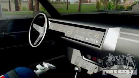 GTA 5 Imponte Nightshade IVF для GTA San Andreas вид справа
