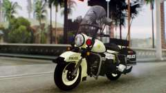 New Police Bike для GTA San Andreas