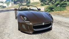 Jaguar F-Type 2014 для GTA 5