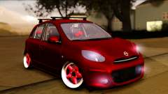 Nissan March 2011 Hellaflush