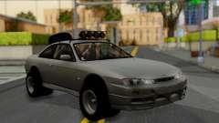 Nissan Silvia S14 Rusty Rebel для GTA San Andreas