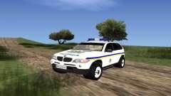 BMW X5 Ukranian Police
