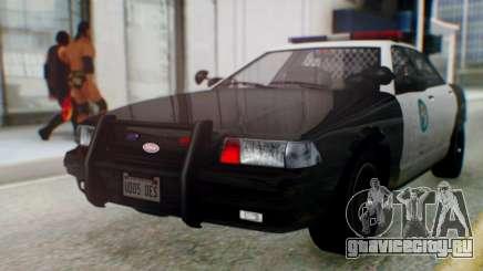 GTA 5 Vapid Stanier II Police для GTA San Andreas