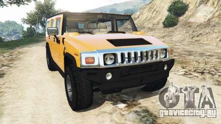 Hummer H2 2005 для GTA 5