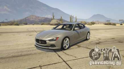 Maserati Ghibli S для GTA 5