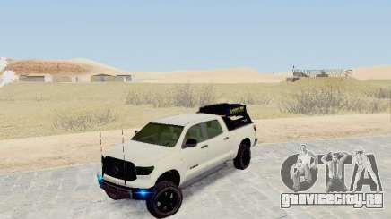 Toyota Tundra 2012 Semi-Off-road для GTA San Andreas