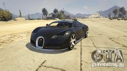Bugatti Veyron v6.0 для GTA 5