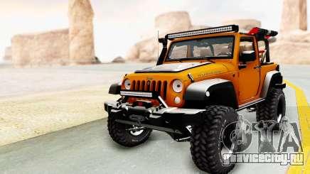 Jeep Wrangler Off Road для GTA San Andreas