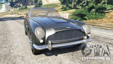 Aston Martin DB5 Vantage 1965 для GTA 5