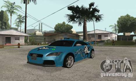 Audi TT-RS Tunable для GTA San Andreas вид сзади