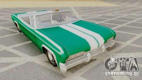 Blade F&F3 Mustang PJ для GTA San Andreas
