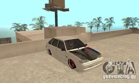 Vaz 2114 Armenian для GTA San Andreas вид слева