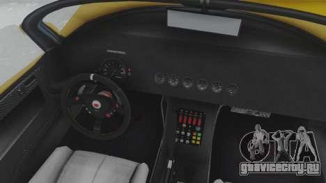 GTA 5 Bravado Banshee 900R Tuned для GTA San Andreas вид справа