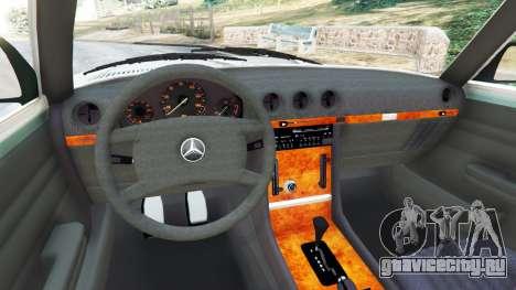 Mercedes-Benz 350 SL (R107) для GTA 5 вид сзади справа