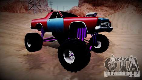 Picador Monster Truck для GTA San Andreas