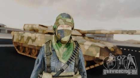 Somalia Militia Woodland Camo для GTA San Andreas
