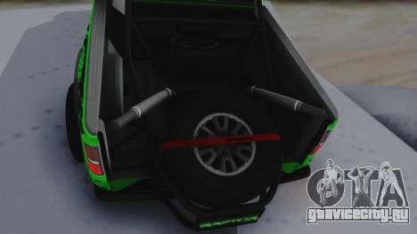 Ford F-150 SVT Raptor 2012 для GTA San Andreas вид сзади