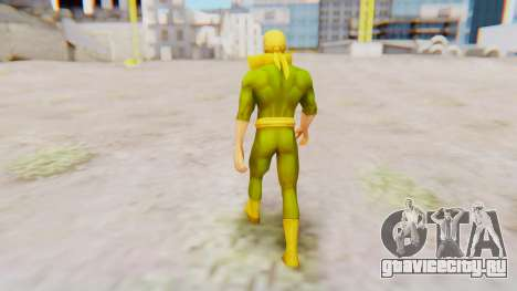 Marvel Future Fight - Iron Fist для GTA San Andreas третий скриншот