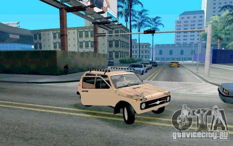ВАЗ Нива для GTA San Andreas вид сбоку