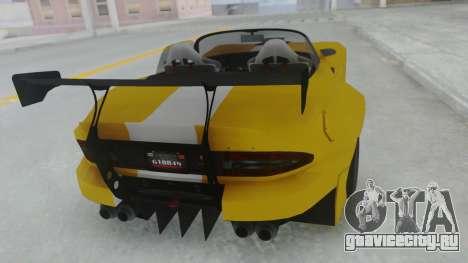 GTA 5 Bravado Banshee 900R Tuned для GTA San Andreas вид слева