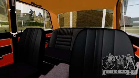 ВАЗ 2103 для GTA San Andreas вид сбоку